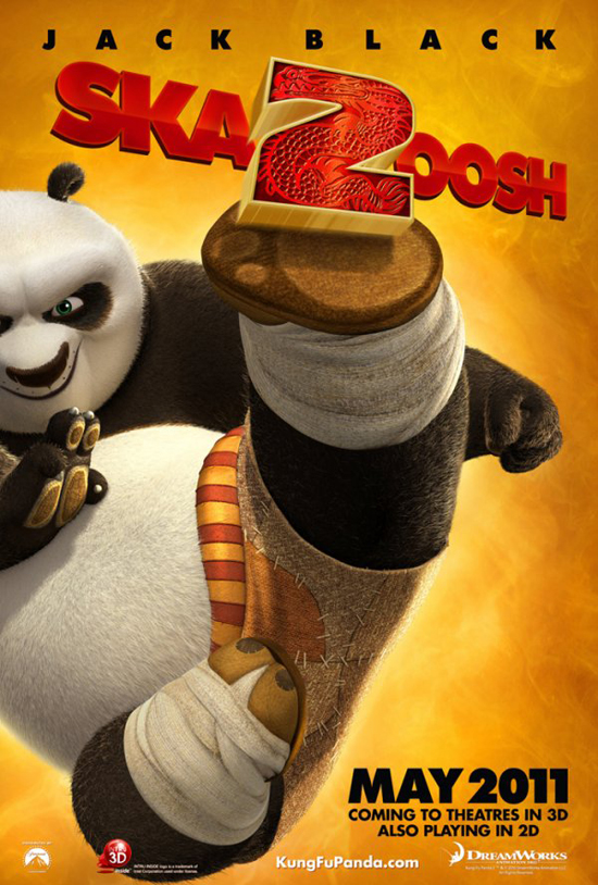 Upcoming Movie Posters - Kung Fu Panda 2 01
