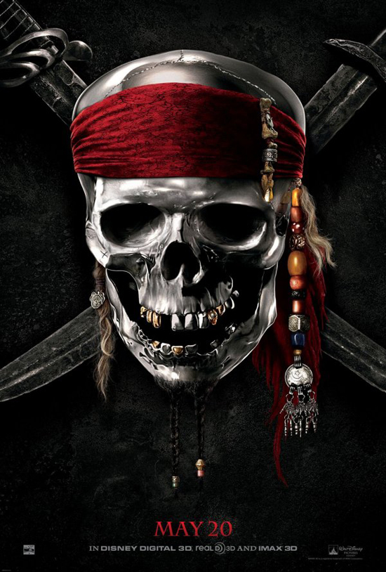 Upcoming Movie Posters - Pirates of the Caribbean: On Stranger Tides