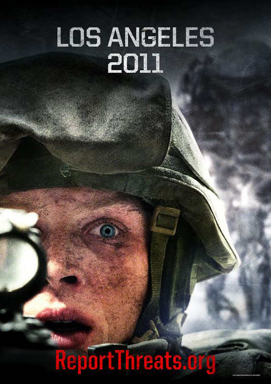 Upcoming Movie Posters - Battle: Los Angeles