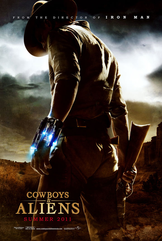 Upcoming Movie Posters - Cowboys and Aliens