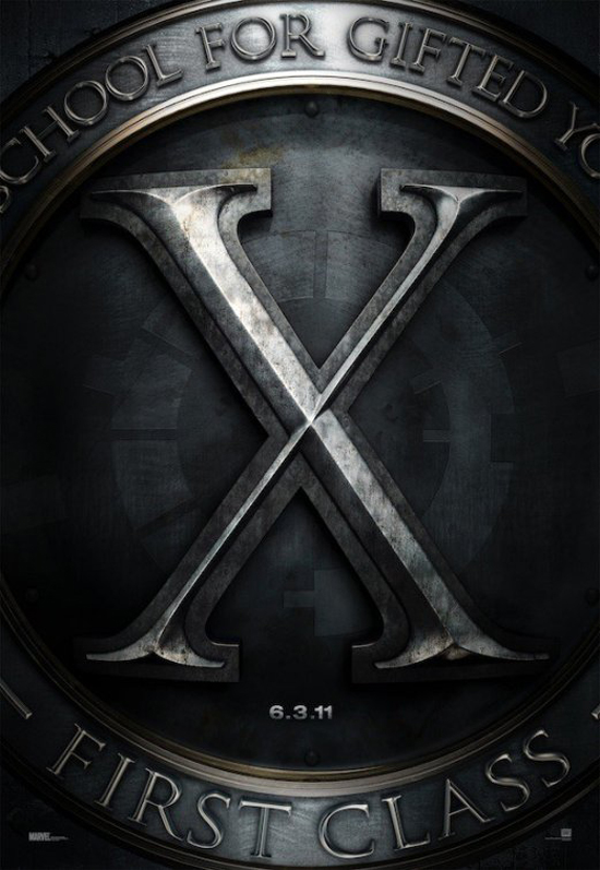 Upcoming Movie Posters - X-Men: First Class