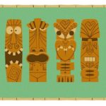 33 Tiki Art Poster Design Inspiration Samples for Your Den!