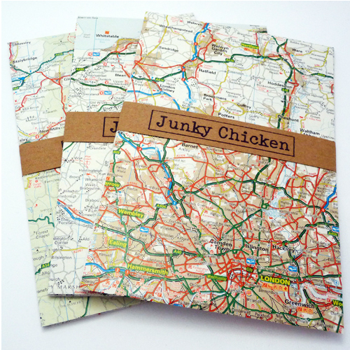 Custom Envelopes - maps