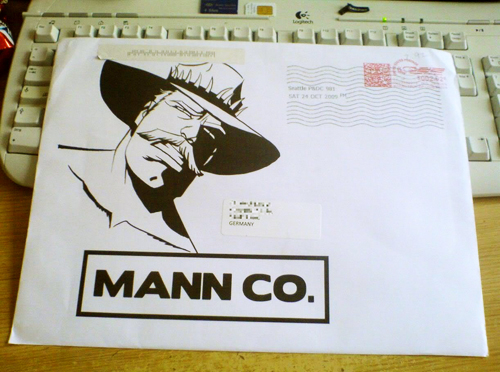 Custom Envelopes - Manly