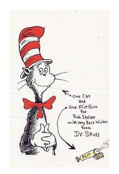 Dr. Seuss Art - letterhead