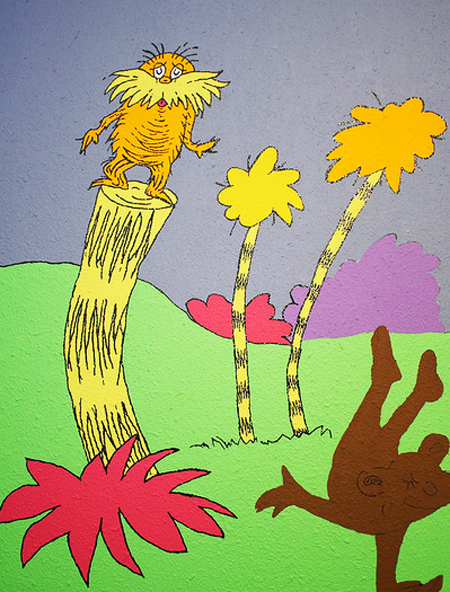 Dr. Seuss Art - Nursery