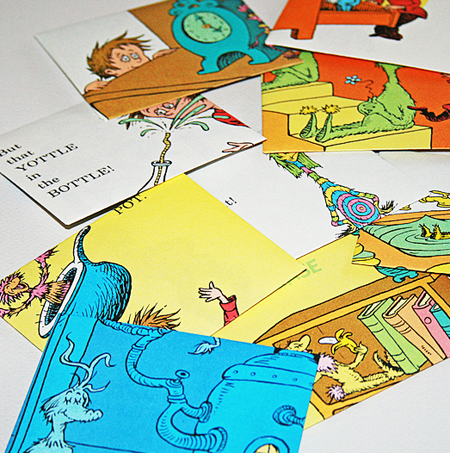 Dr. Seuss Art - Cards