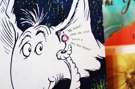 Dr. Seuss Art - Horton