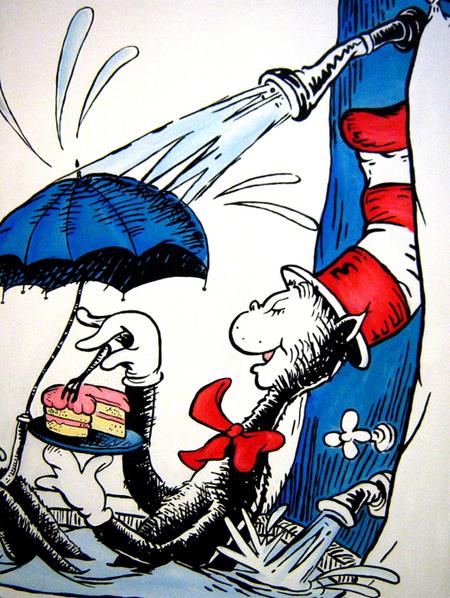 Dr. Seuss Art - Cake