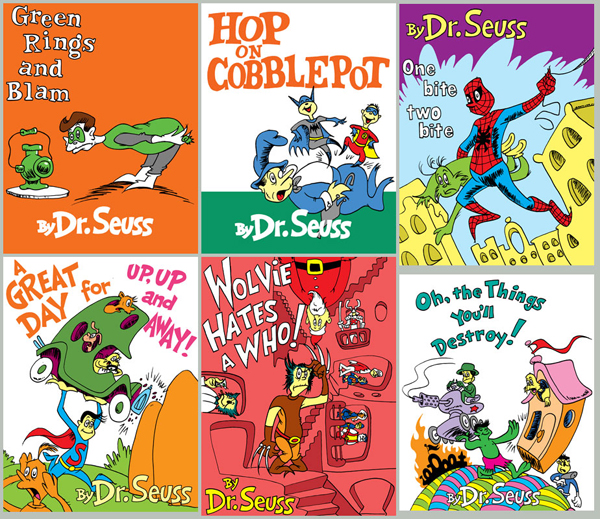 Dr. Seuss Art - Parody