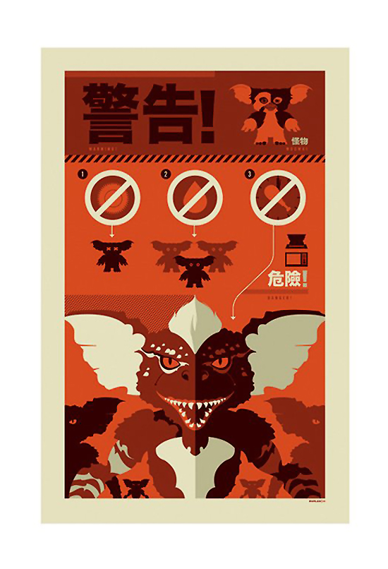 Information Graphic Posters - Gremlins
