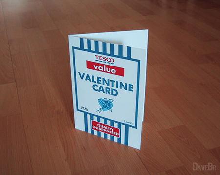 valentine's day card ideas - tesco