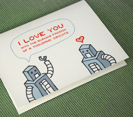 valentine's day card ideas - thousand circuits