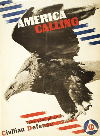 Vintage Home Front Posters - Eagle