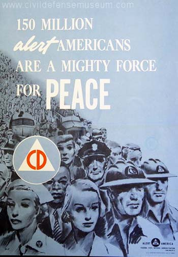 Vintage Home Front Posters - Force For Peace
