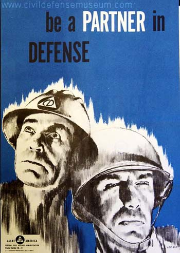 Vintage Home Front Posters - Partner in Defense