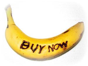 Banana Call To Action