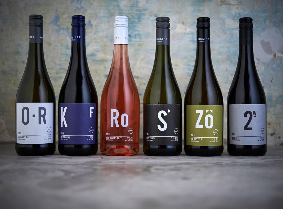 Eszter Laki & Gergely Szoke wine label