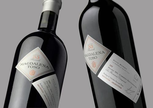 Creative Packaging Elegant Wine Label Design Samples