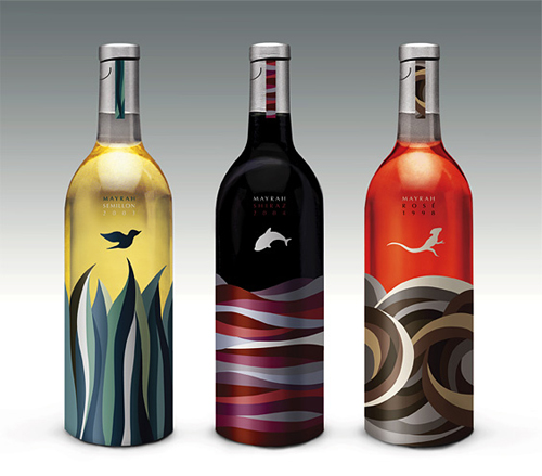 Eulie Lee / De Yool Studio (디율) design wine labels