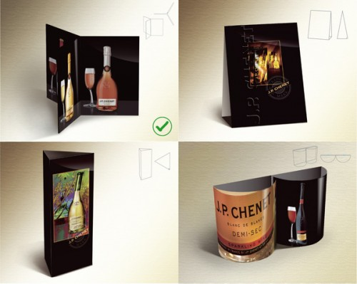 Promotional table tent design ideas and inspiration for Table design inspiration