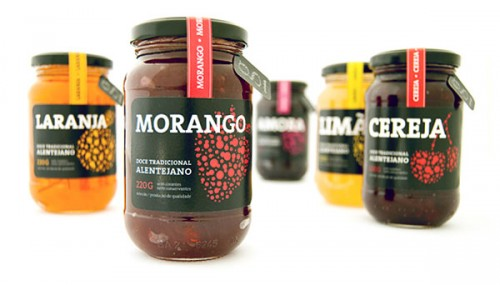 jam jar labelling