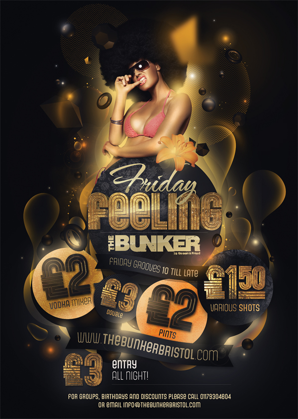 44 enticing club flyer designs uprinting