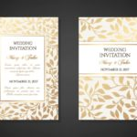 Wedding Invitations: Tips, Design Samples and Cool Wedding Fonts