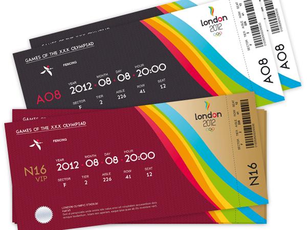 32 excellent ticket design samples uprinting