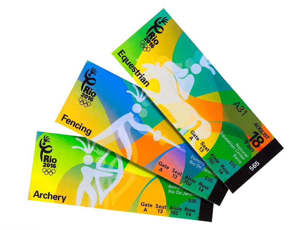 32 Excellent Ticket Design Samples | UPrinting