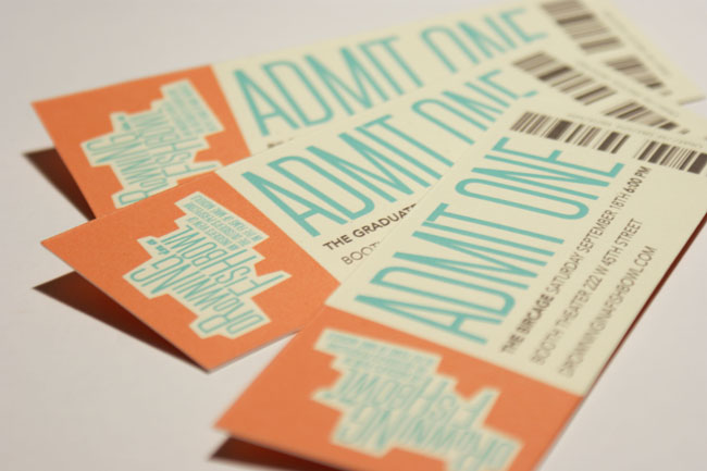 32 Excellent Ticket Design Samples – Event Ticket Ideas