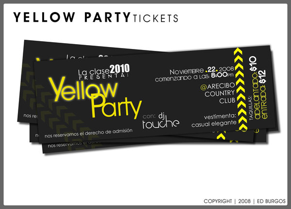32 Excellent Ticket Design Samples Uprinting