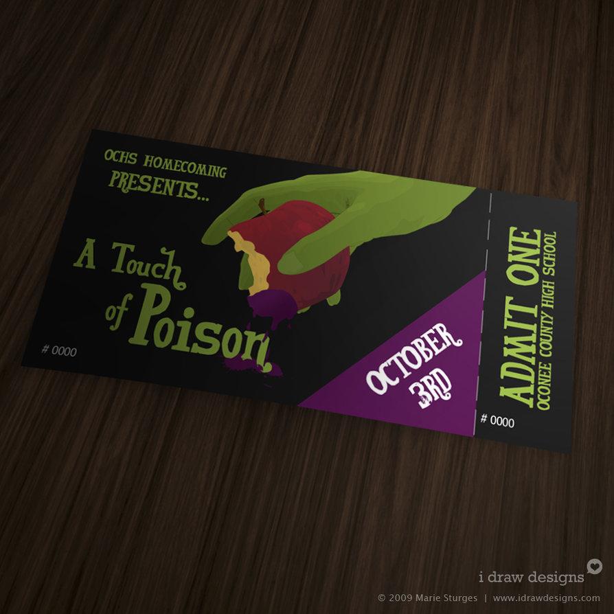 32 Excellent Ticket Design Samples – Design Tickets Template