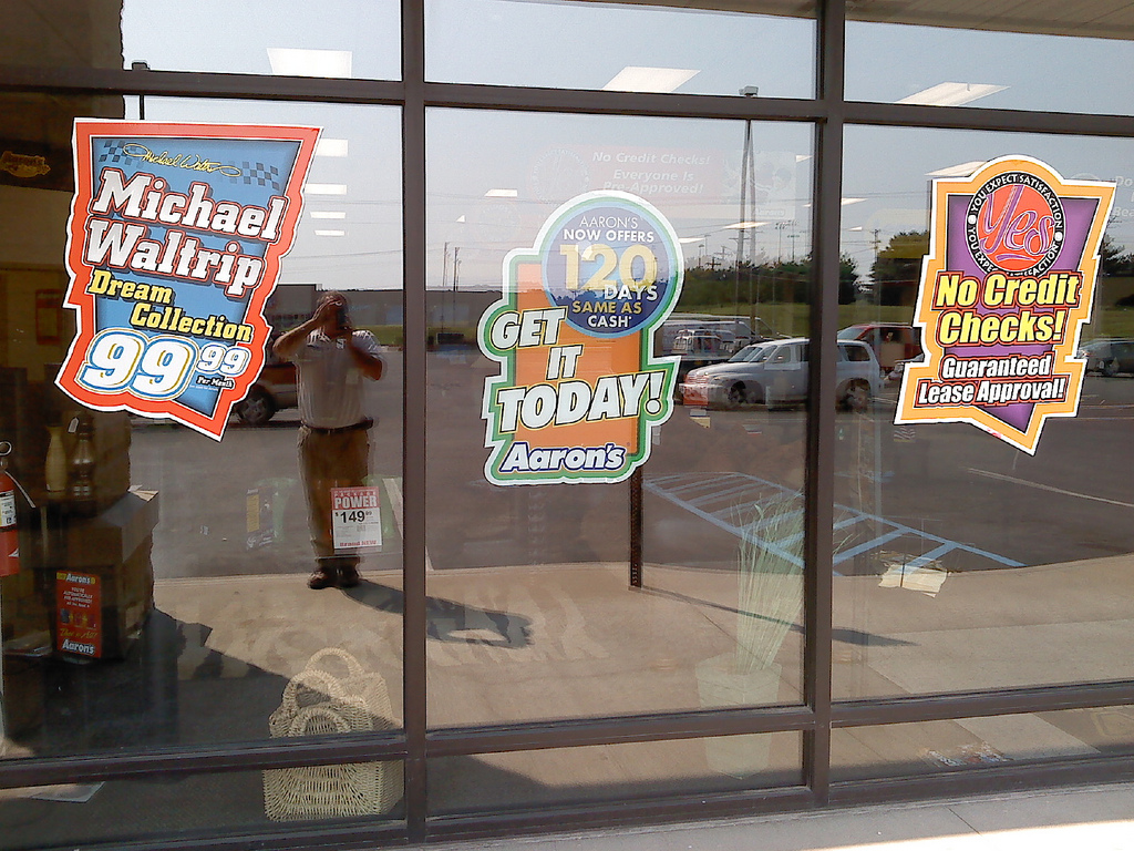 Window Clings Tips And Ideas UPrinting - Window decal stickers