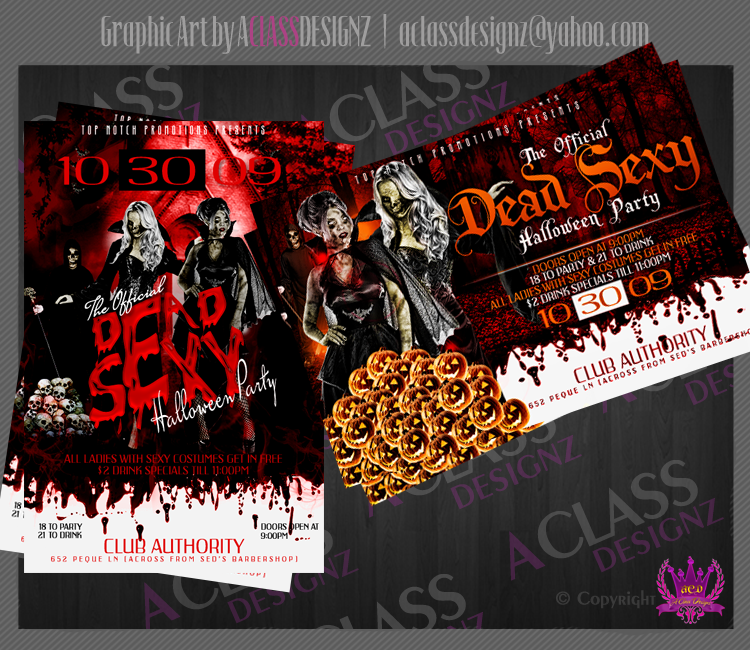 Halloween Flyer Designs 20