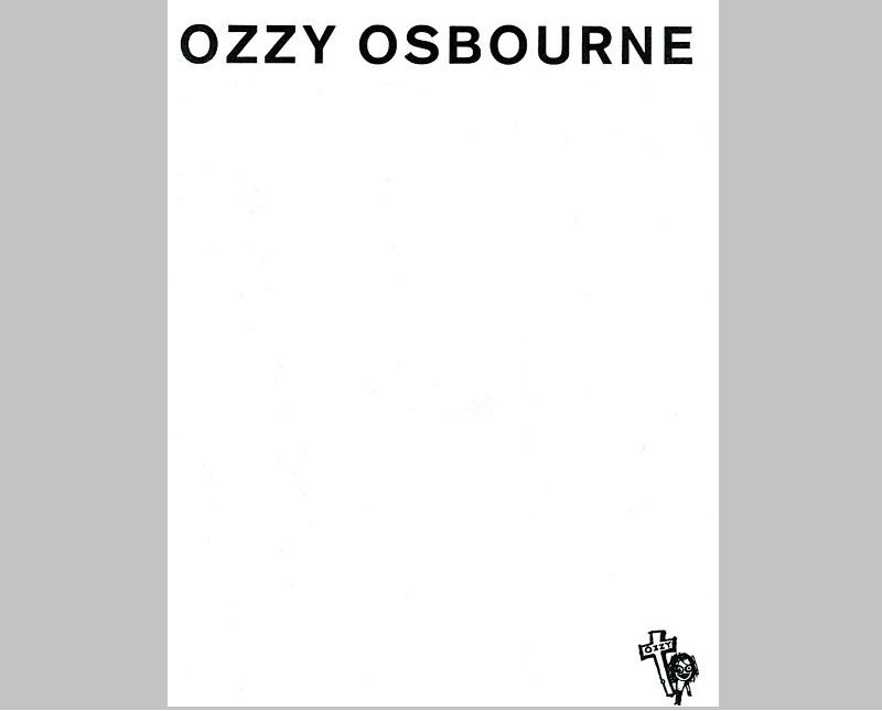 Personal Letterhead - Ozzy Osbourne