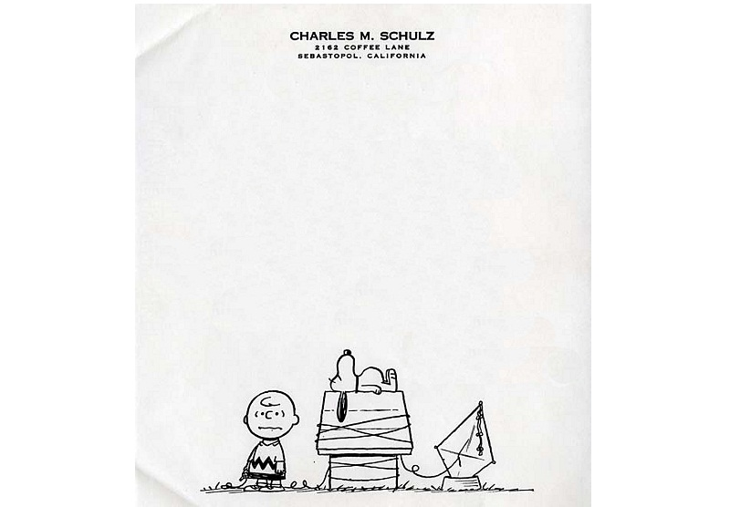 Personal Letterhead - Charles Schulz