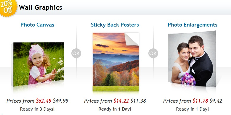 20 Percent Off Wall Graphics