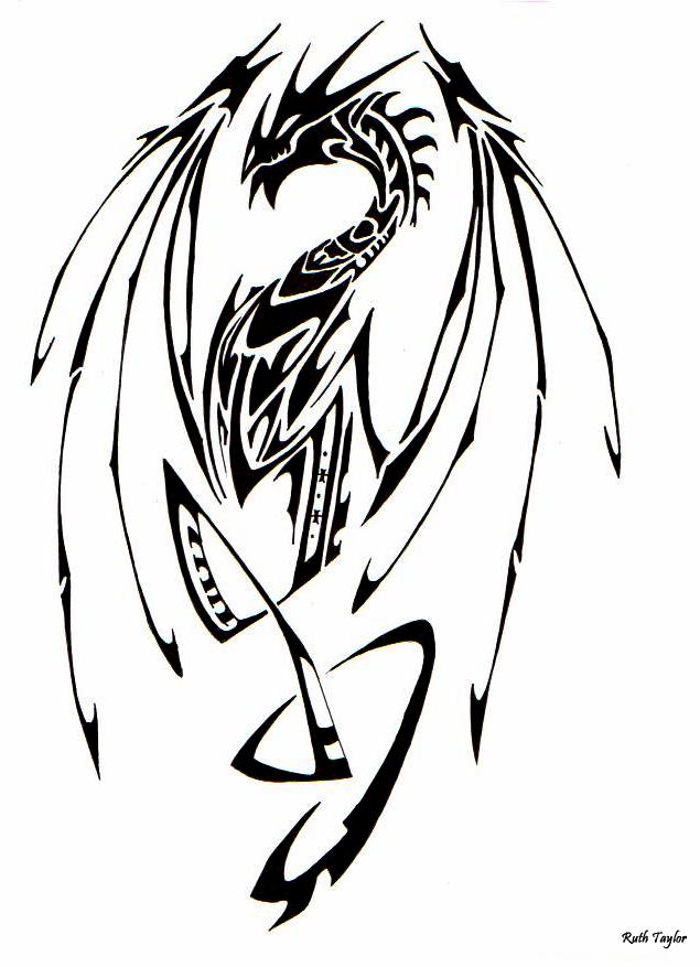 Tribal-Dragon-07