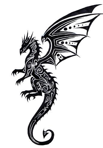 New Tribal Dragon