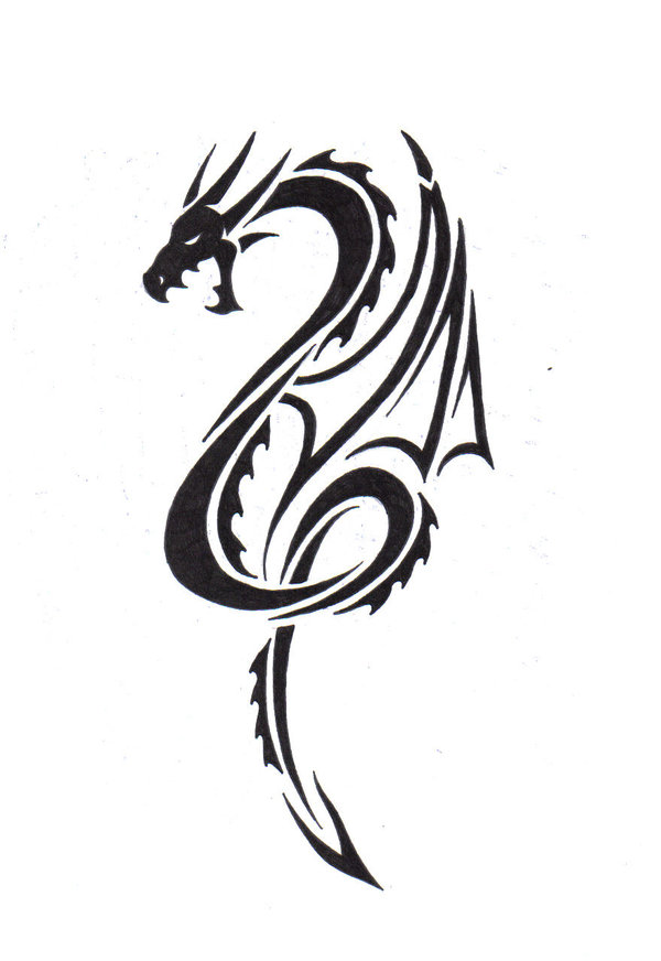 Tribal dragon 15