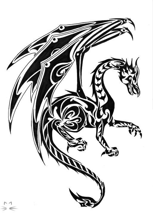 Tribal-Dragon-17