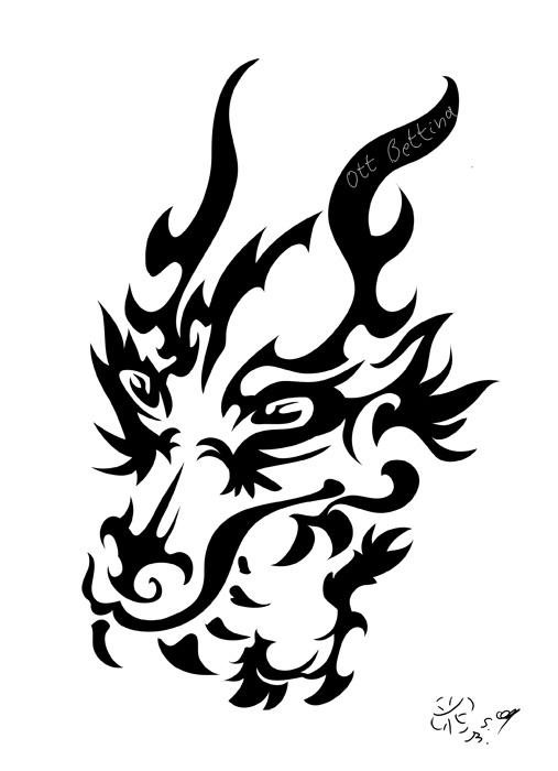 Tribal-Dragon-19