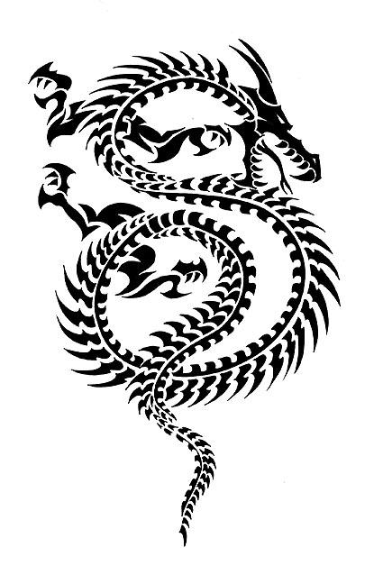 Tribal-Dragon-22