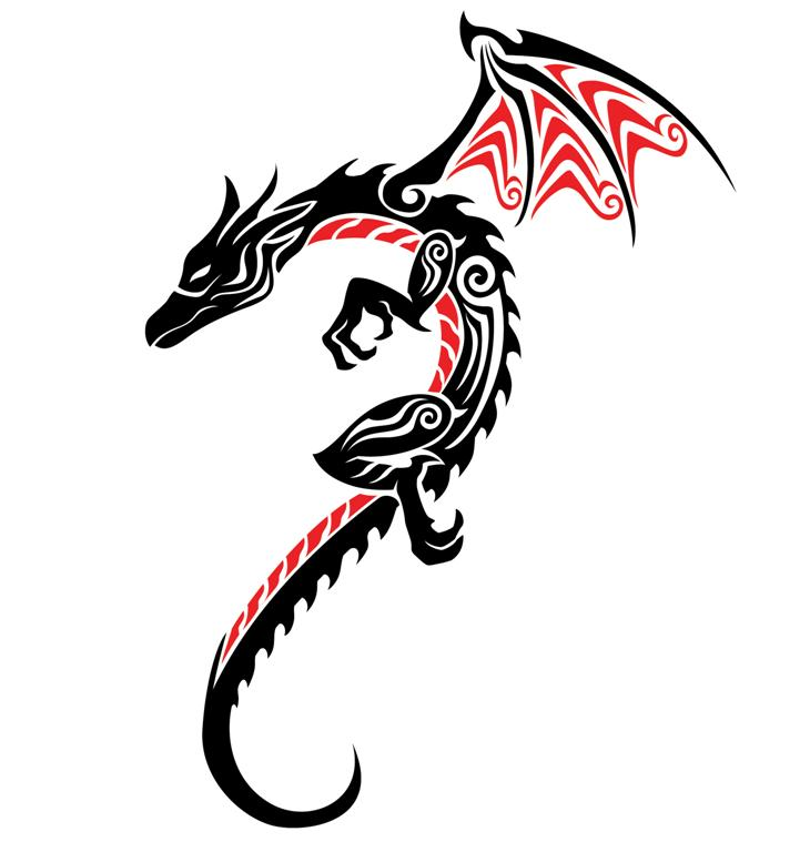 Sticker Design Dragon