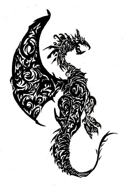 Tribal-Dragon-36