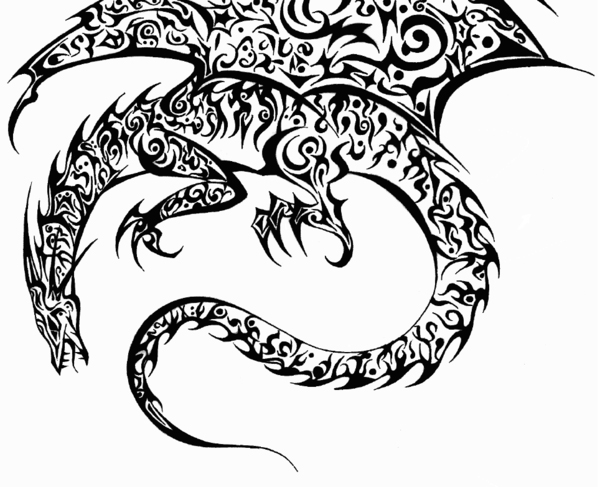 tribal dragon 37