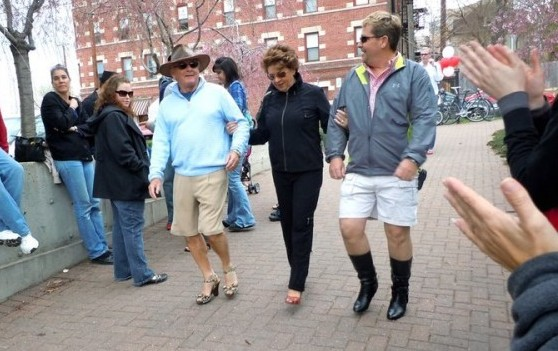 Walk A Mile In Her Shoes Header