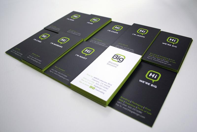 A Fresh Start - 30 New Business Card Designs | UPrinting
