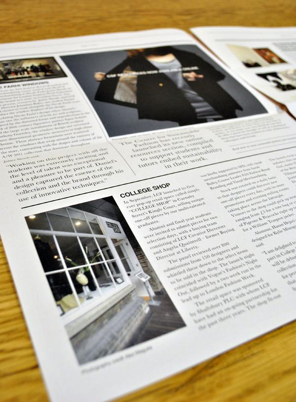 The Cut Newsletter Inside